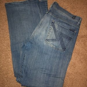 Men's 7 for all mankind bootcut jeans